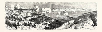 3rd Division Drawing - The Two Columns Of Attack Of The Mayran Division by Litz Collection