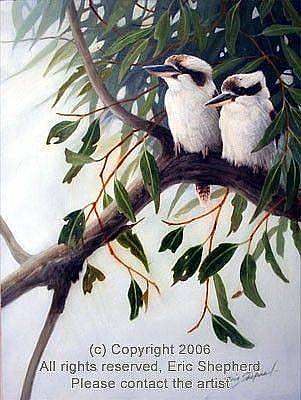 Eric Shepherd Painting - The Two Of Us by Eric Shepherd