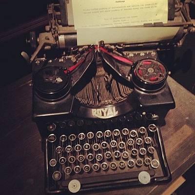 Typewriter Photograph - The #typewriter - The #analogue by Rob Jewitt