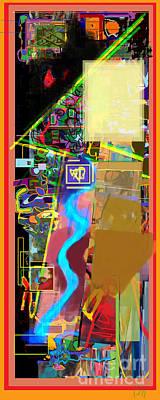 Tzaddik Digital Art - The Tzaddik Lives On Emunah 13 by David Baruch Wolk