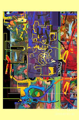 Tzaddik Digital Art - The Tzaddik Lives On Emunah 19a by David Baruch Wolk