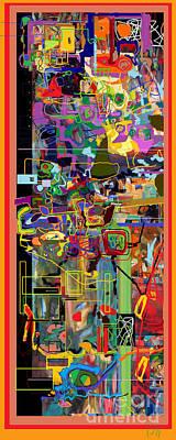 Tzaddik Digital Art - The Tzaddik Lives On Emunah 2 by David Baruch Wolk