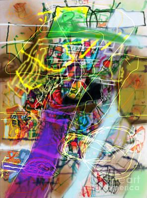 Tzaddik Digital Art - The Tzaddik Lives On Emunah 22a by David Baruch Wolk