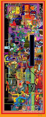 Tzaddik Digital Art - The Tzaddik Lives On Emunah 4 by David Baruch Wolk