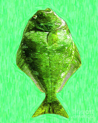 Trout Digital Art - The Ugly Fish 20130723dip68 by Wingsdomain Art and Photography
