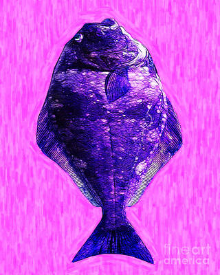 The Ugly Fish 20130723mum130 Print by Wingsdomain Art and Photography
