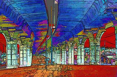 Freeway Digital Art - The Underground by Linda Phelps
