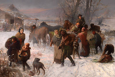 Underground Railroad Painting - The Underground Railroad by Mountain Dreams