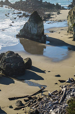 Photograph - The Unexplored Beach by Mick Anderson