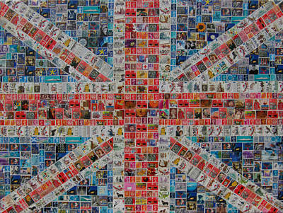 Outerspace Patenets Rights Managed Images - The Union Jack Royalty-Free Image by Gary Hogben