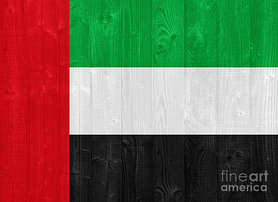 Anne Geddes Collection - The United Arab Emirates flag by Luis Alvarenga
