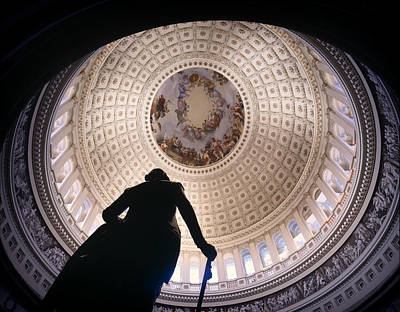 The United States Capitol Dome Art Print