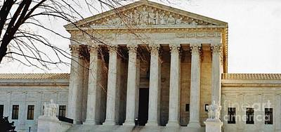 Photograph - The United States Supreme Court by D Hackett