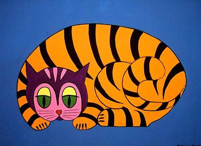 Painting - The Unity Cat by Stephanie Moore