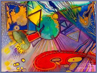 The Universe Painting - The Universe  by Patricia Bunk