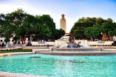 Photograph - The University Of Texas At Austin by Kristina Deane