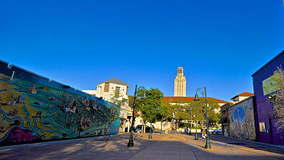 Photograph - The University Of Texas Tower by Kristina Deane