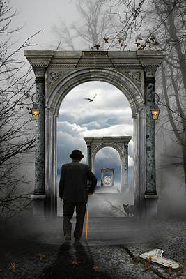 Gateway Photograph - The Unknown by Leyla Emektar La_