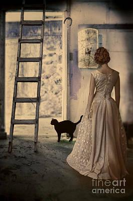 Old Door Photograph - The Unlucky Room by Jill Battaglia