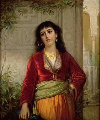 The Unwelcome Companion , C.1872-73 Art Print