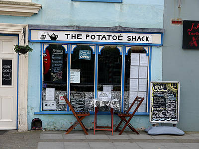 Photograph - The Upmarket Spud by Richard Reeve