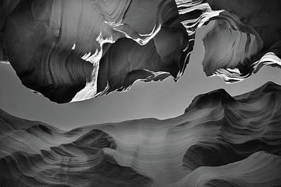 Antelope Wall Art - Photograph - The Upper Exit by Jure Kravanja