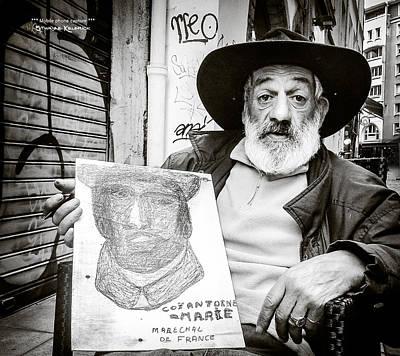 Photograph - The Vagabond Painter by Stwayne Keubrick