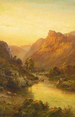 Vale Painting - The Vale Of Ben-lawers by Celestial Images