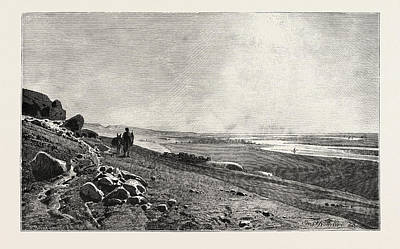 Benis Drawing - The Valley Of The Nile At Beni Hasan by Litz Collection