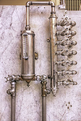 Photograph - The Valves Of Fordyce Bathhouse - Hot Springs - Arkansas by Jason Politte