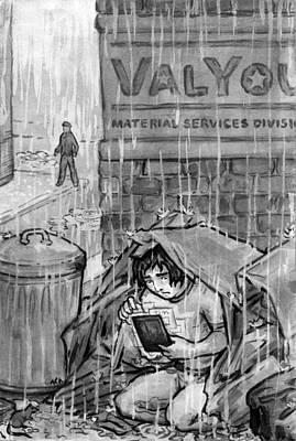 The Valyou Of Human Life Art Print