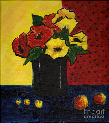 Painting - The Vase by Asha Sudhaker Shenoy