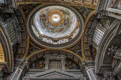 Vatican Photograph - The Vatican 4 Rome Italy by Bruce Ingwall