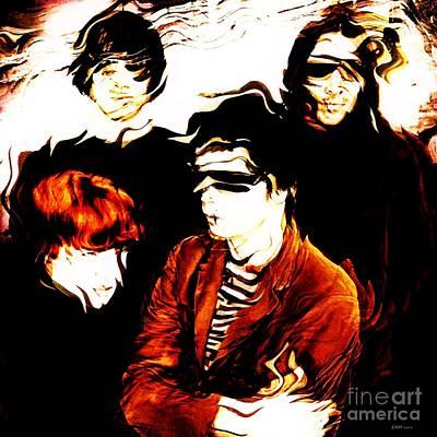 Maureen Digital Art - The Velvet Underground  by Elizabeth McTaggart