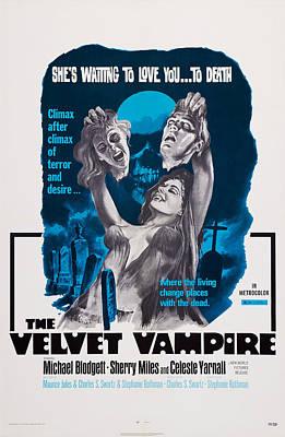 Celeste Photograph - The Velvet Vampire, Us Poster, Celeste by Everett