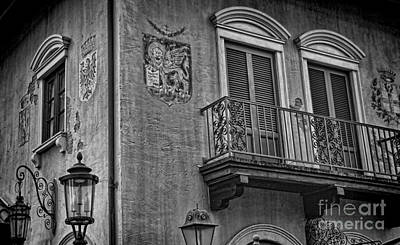 Photograph - The Venetian Balcony Iv by Lee Dos Santos
