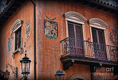 Photograph - The Venetian Balcony by Lee Dos Santos