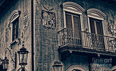 Photograph - The Venetian Balconyiii by Lee Dos Santos