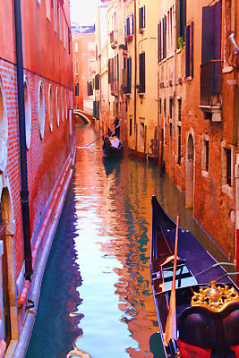 Photograph - The Venetian Way by Christiane Kingsley