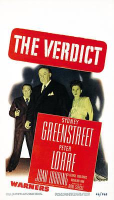 The Verdict, Us Poster Art, From Left Art Print