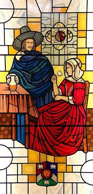 The Vermeer Art Print by Gilroy Stained Glass