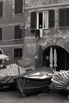Observer Photograph - The Vernazza Observer by William Fields