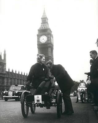 The Veteran Car Club's London To Brighton Run Print by Retro Images Archive