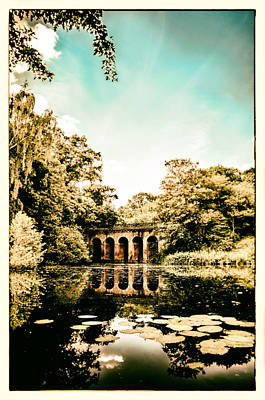 Photograph - The Viaduct Pond Hampstead Health by Lenny Carter