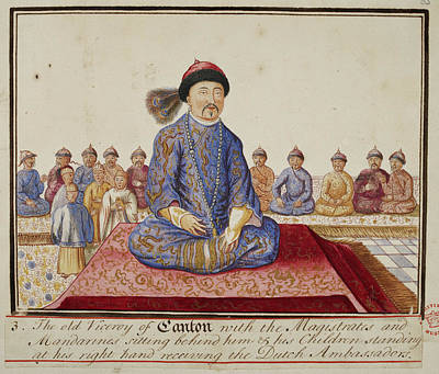 The Viceroy Of Canton Art Print by British Library
