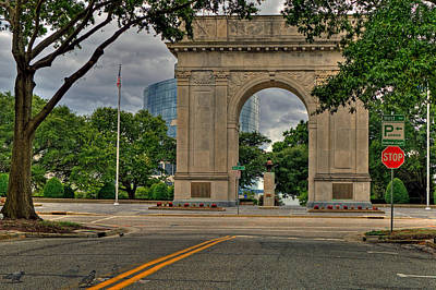 Photograph - The Victory Arch by Jerry Gammon