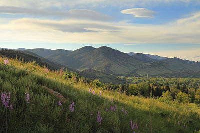 Photograph - The View From Chautauqua by Scott Rackers