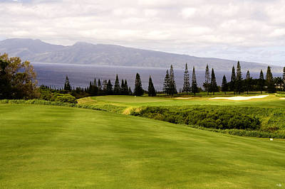 Golf Art Photograph - The View by Scott Pellegrin
