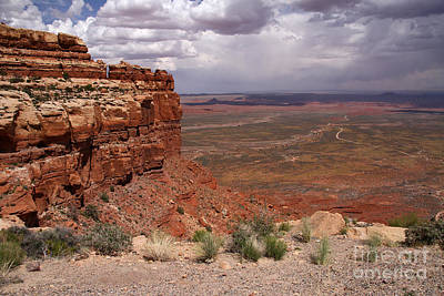 Photograph - The View South From Moki Dugway by Butch Lombardi