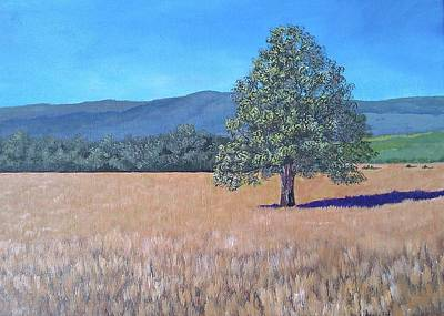 Art Print featuring the painting The View by Suzanne Theis